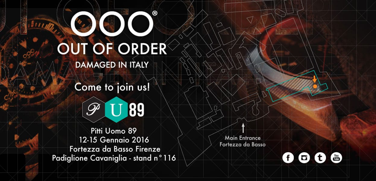 OOO-OUT OF ORDER - Pitti Uomo Firenze