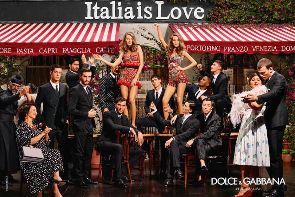 #ITALIAISLOVE by Dolce&Gabbana