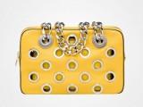 bauletto Prada giallo