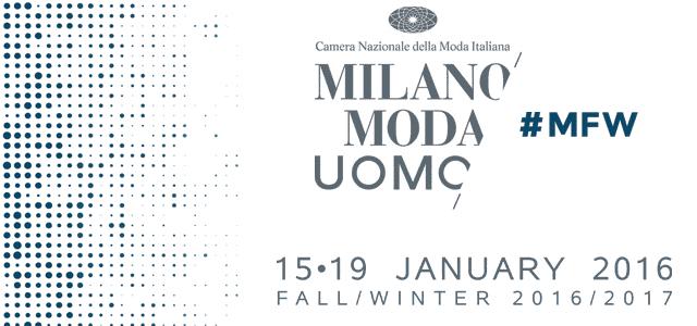 Milano Moda Uomo Autunno/Inverno 2016/17