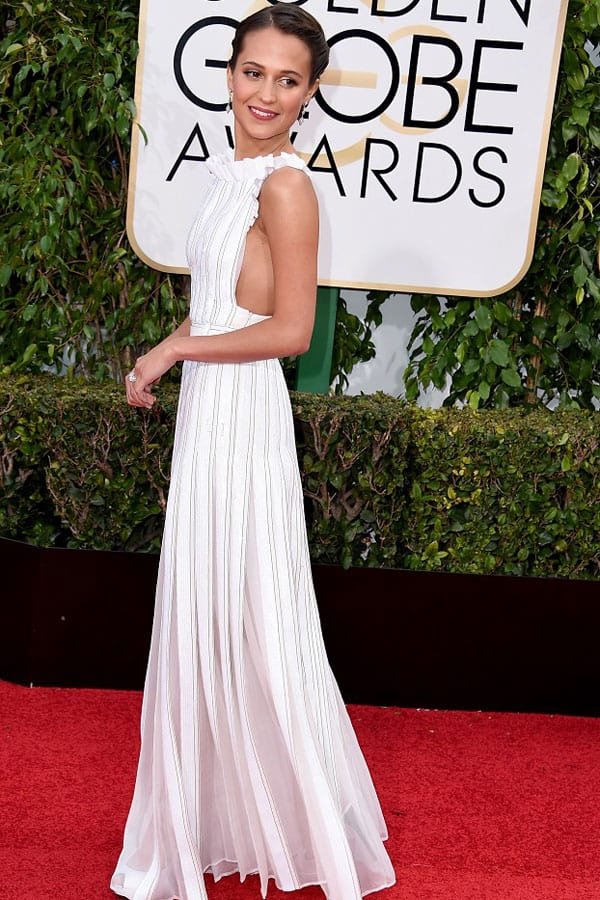 LOUIS VUITTON_Alicia Vikander: 73esimi Golden Globes_ 10 gennaio 2016_Los Angeles