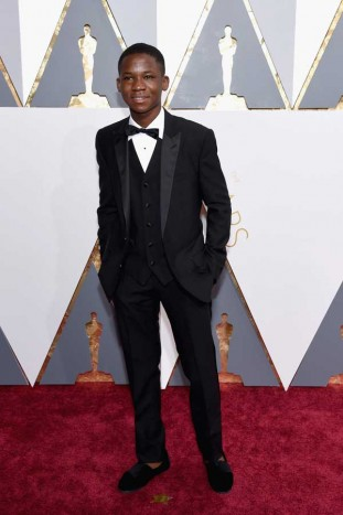 Abraham-Attah_88th-Annual-Academy-Awards_February-28-2016 - Abito Dolce Gabbana