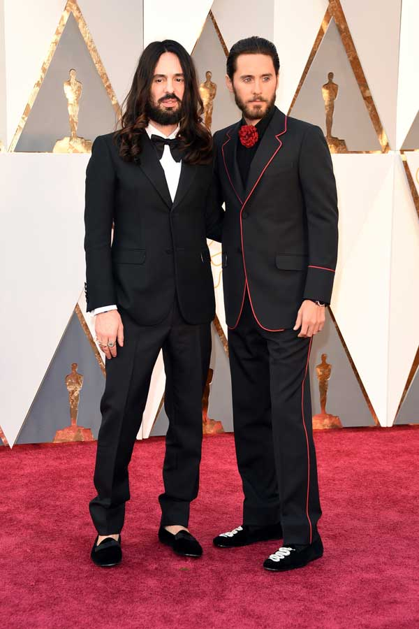 Alessandro Michele & Jared Leto - in Gucci