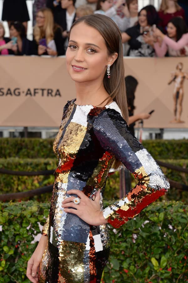 Alicia Vikander: 22esimi Annual Screen Actors Guild Awards (SAG)
