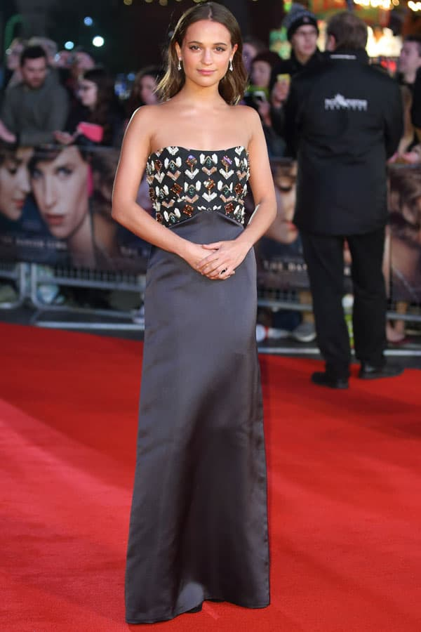 LOUIS VUITTON_Alicia Vikander - The Danish Girl premiere_ 8 dicembre 2015_Londra