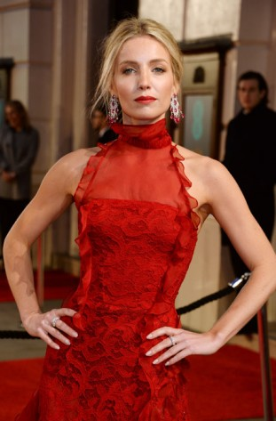 Annabelle-Wallis-wears-Chopard-to-the-BAFTAs,-London