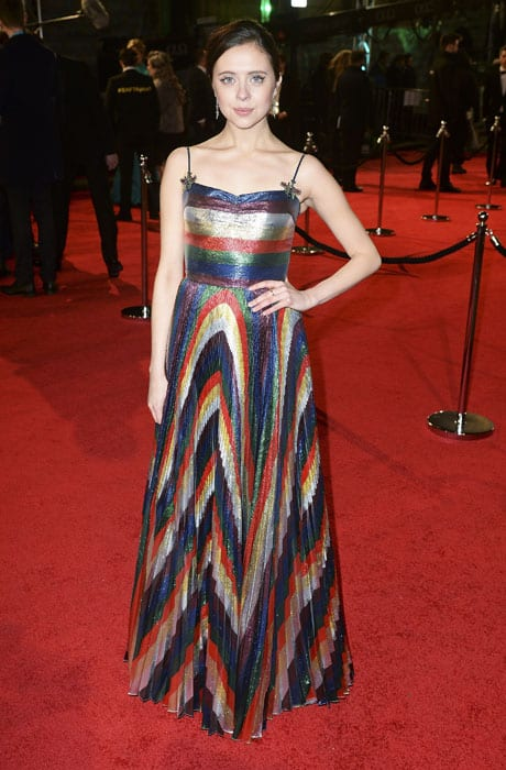 Bel-Powley in Gucci
