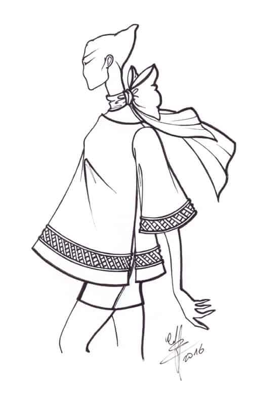 La camicia bianca - i bozzetti di Franco Lorenzon
