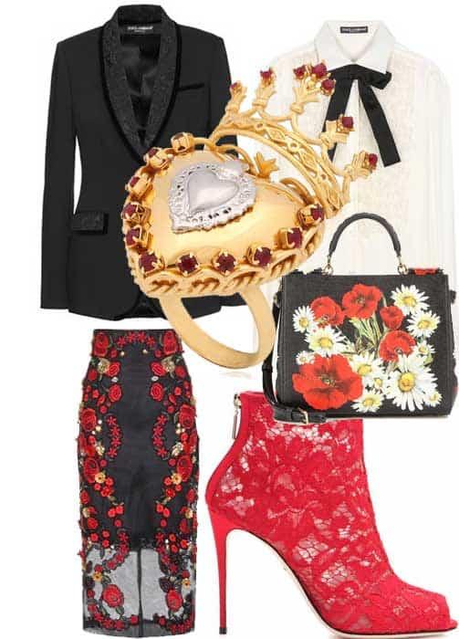 L'outift di Dolce & Gabbana