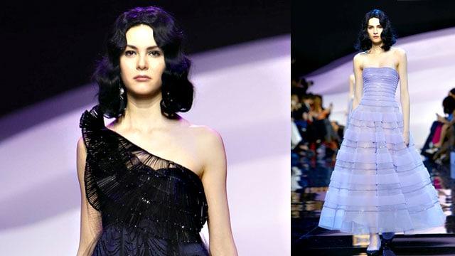 Giorgio Armani Privé haute couture Paris Summer 2016