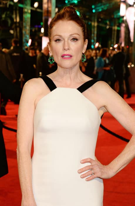 Julianne-Moore-wears-Chopard-to-the-BAFTAs,-London