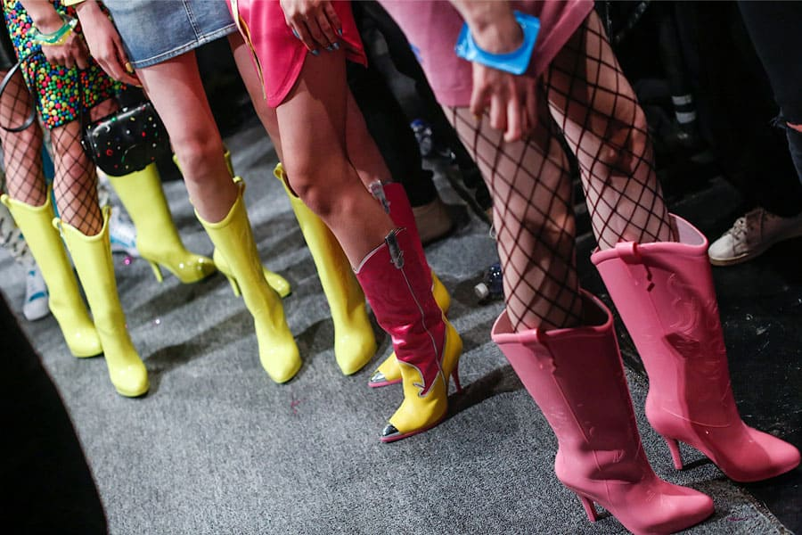 MELISSA + JEREMY SCOTT COWBOY BOOT