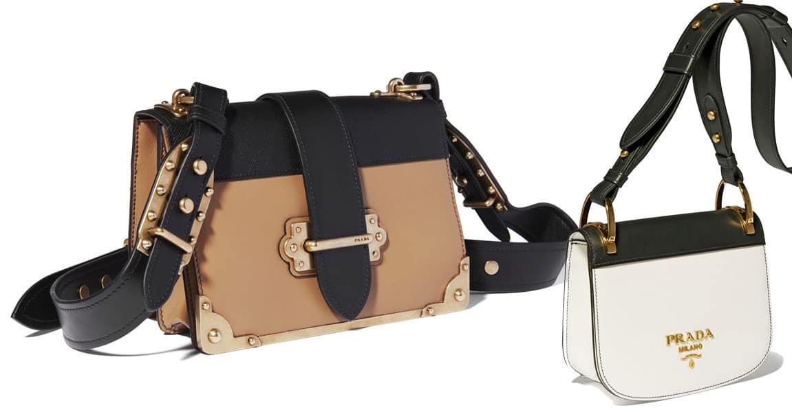 Le nuove borse Prada