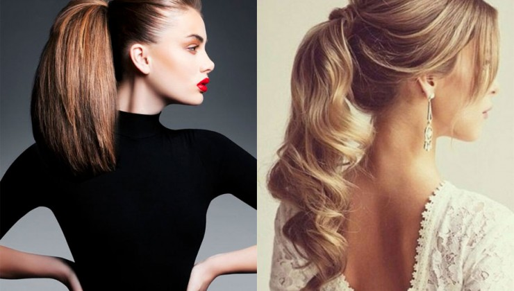 la ponytail - foto via Pinterest -