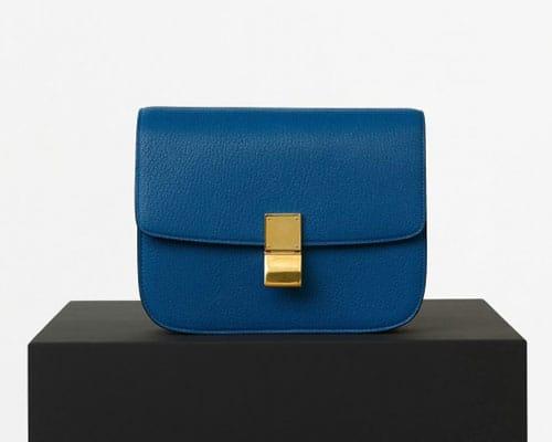 clutch blu mare Céline