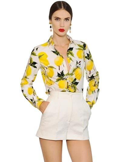 La camicia in primavera - D&G- foto Luisaviaroma