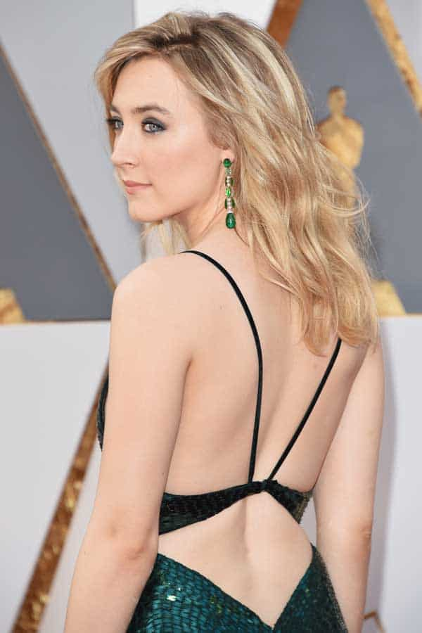 Calvin Klein Collection va vestito Saoirse Ronan