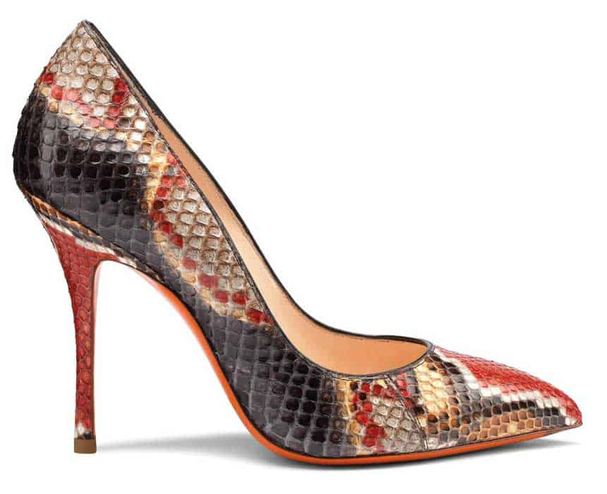 Santoni - Pitone Multicolor, il must have di stagione
