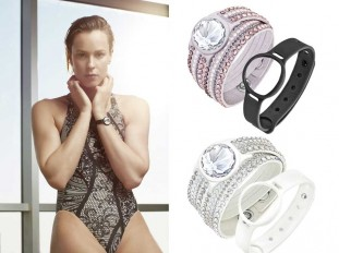 Federica Pellegrini - Swarovski Activity Tracking Jewelry
