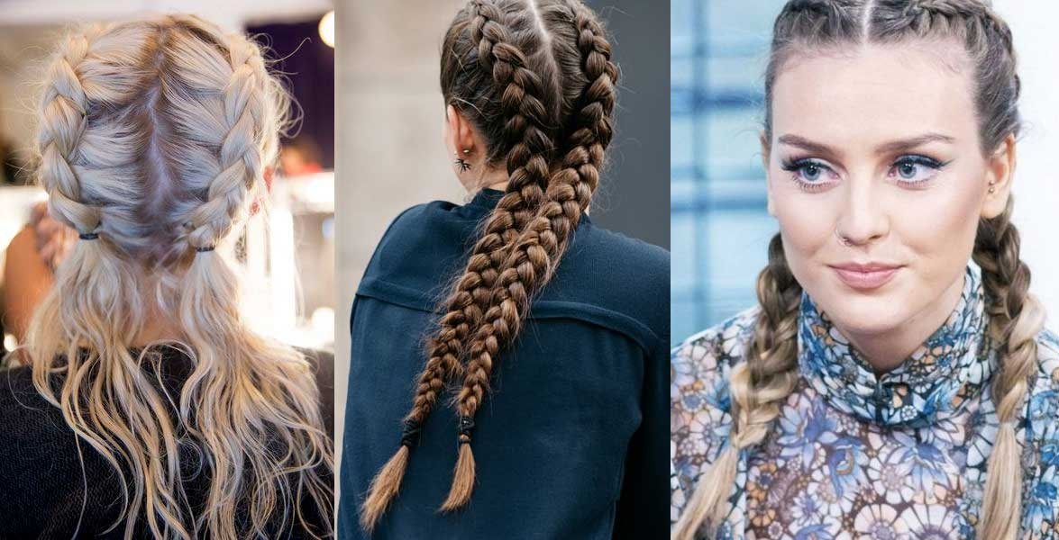 Super Doppie trecce tutorial completo per la tecnica boxer braids AT17