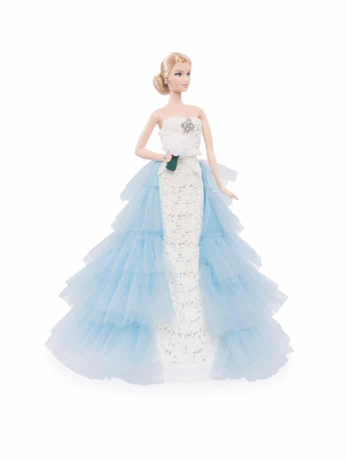 """Something Blue"": Oscar de la Renta per Barbie"