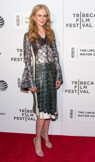 Total look Louis Vuitton per Nicole Kidman