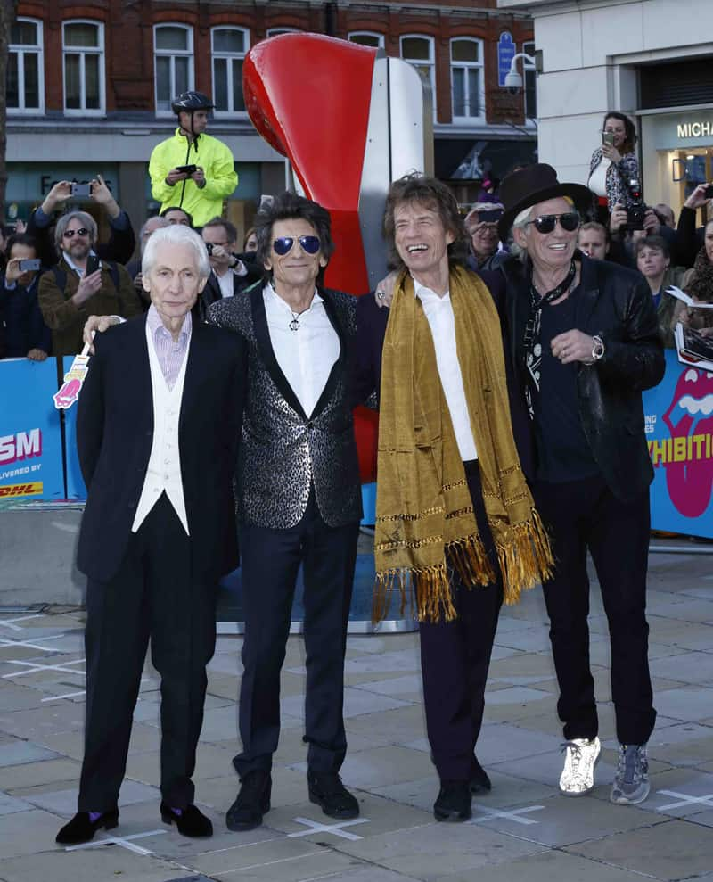 "Rolling Stones - l'opening di ""EXHIBITIONISM"""