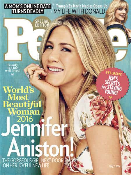 Jennifer Aniston su People
