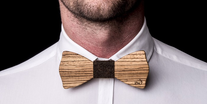 Il papillon ROBIN WOOD di WooDone