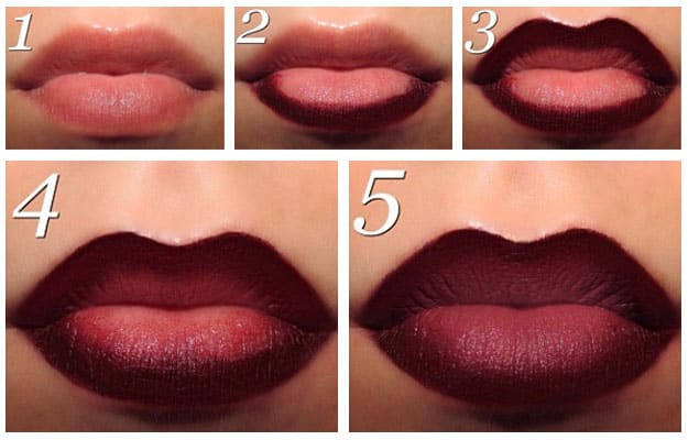 ombre lips come fare