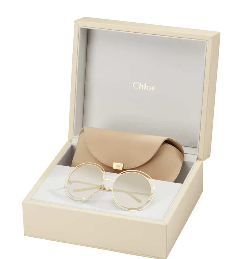 Carlina, l'occhiale Chloè in Limited Edition