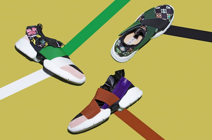 EMILIO PUCCI_ SNEAKERS CAPSULE COLLECTION