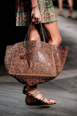 Valentino shopping bag animalier