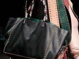 Valentino shopping bag nera