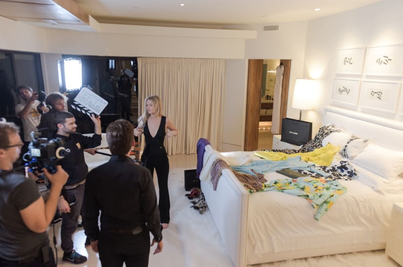 Toni Garrn in ESCADA nel nuovo short-movie by Mayk Azzato
