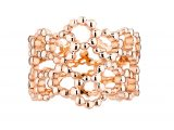 Archi Dior milieu du siecle ring pink gold