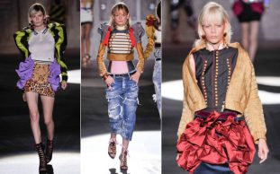 DSquared2 ss2017 donna mfw