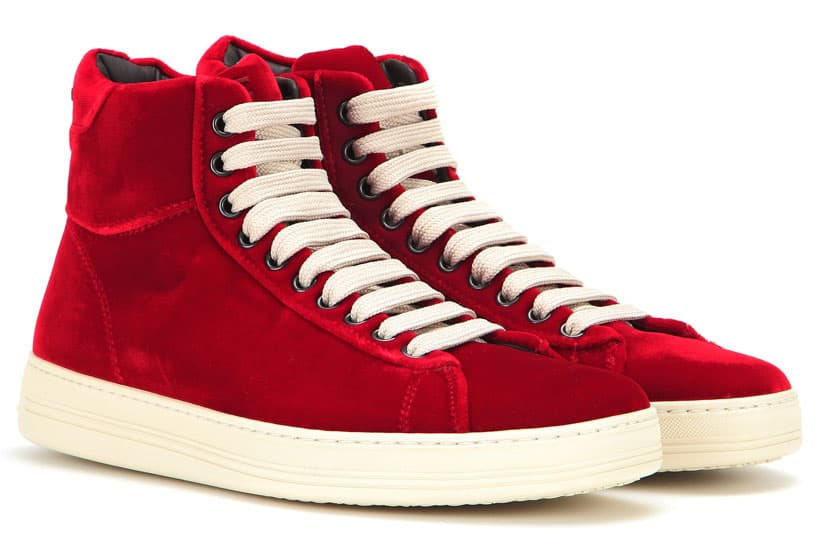 Tom Ford - sneaker in velluto