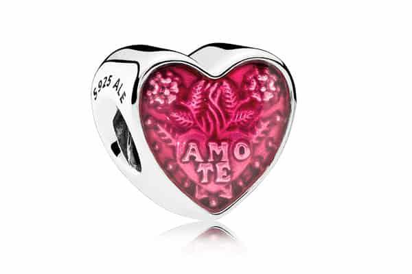 Pandora charm Amo Te