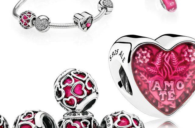 Pandora charms cuore amore