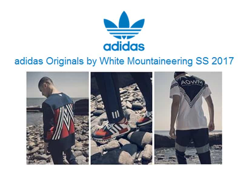 adidias Originals by White Mountaineering SS 2017