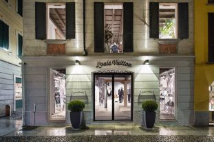Il pop up store di Louis Vuitton in Brera - Milano