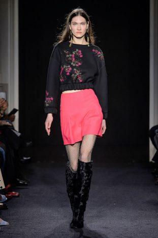 Kristina Ti sfilata moda donna Milano fall/winter2017/18 0289