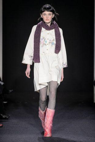 Kristina Ti sfilata moda donna Milano fall/winter2017/18 0318