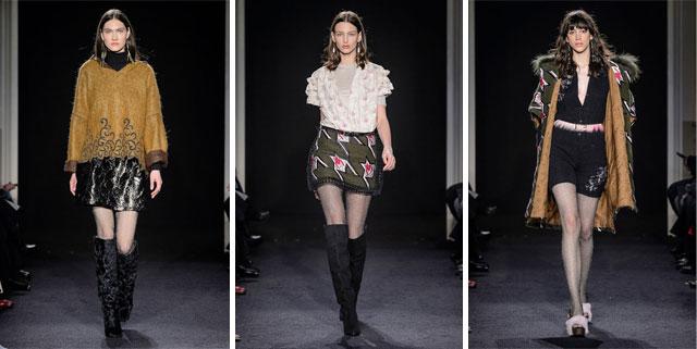 Kristina Ti sfilata moda donna Milano fall/winter2017/18