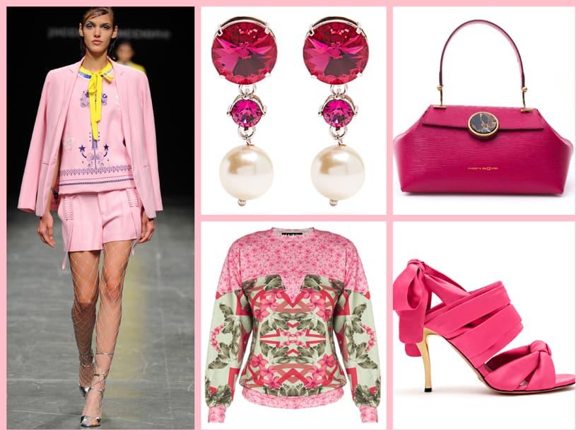 Il colore rosa