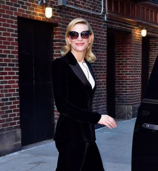 Cate Blanchett indossa occhiali da sole Tom Ford eyewear
