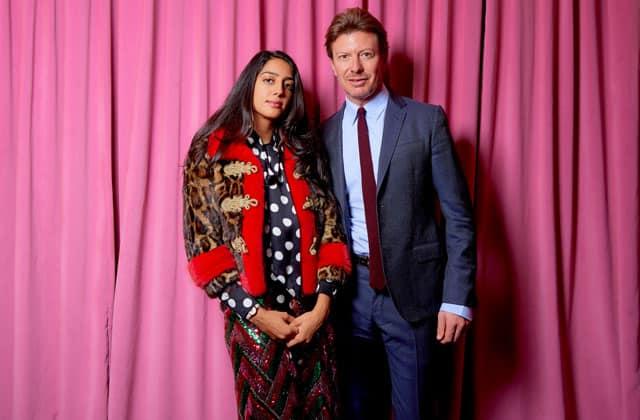 Amanda Charchian e Piero Braga, Presidente e CEO Gucci Timepieces