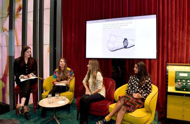 Lou Stoppard, Lola e Nicole (il duo dietro a @mytherapistsays), e Amanda Charchian