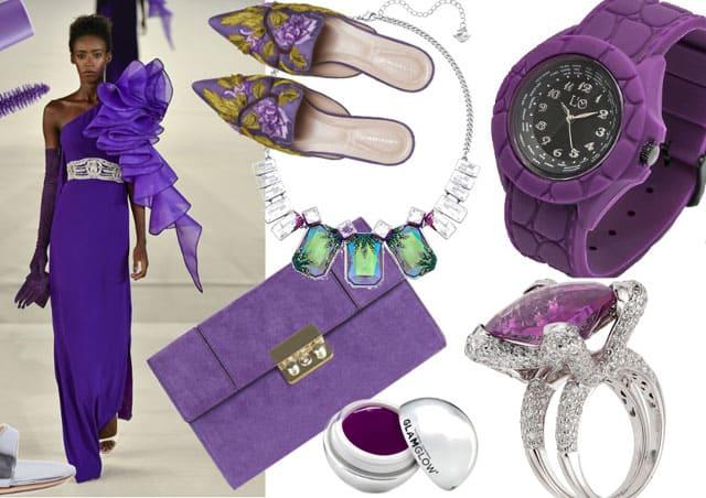 Trend Moda; il colore viola